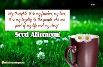 Inspiring Good Afternoon Quotes