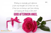 Good Afternoon Wishes For Love