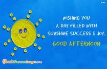Good Afternoon Sunshine Images